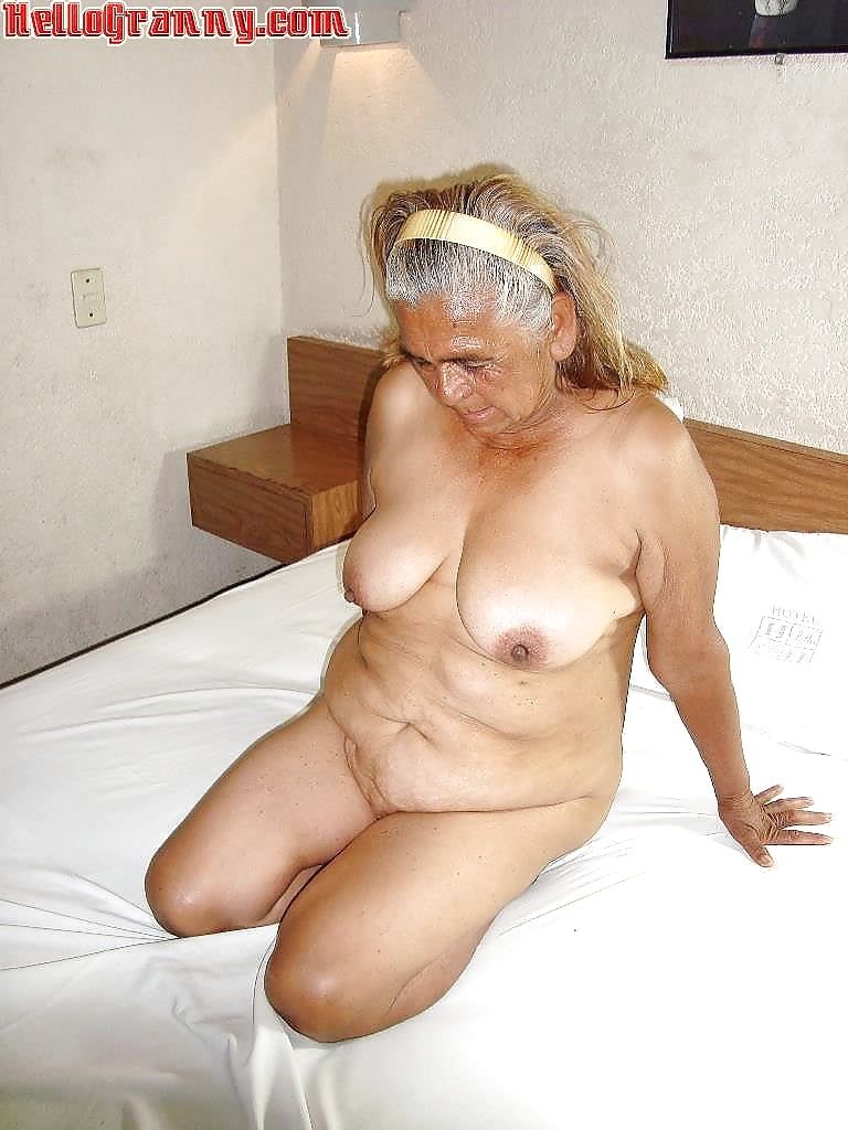 Old granny does anal
