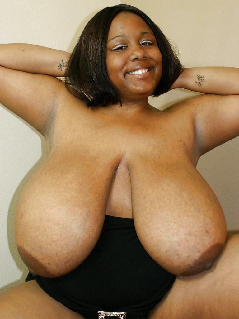 Extra large black tits #10