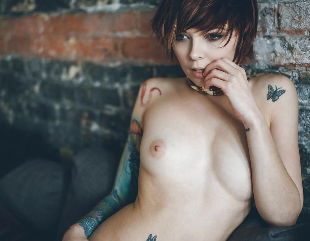 Girls with short hair nude