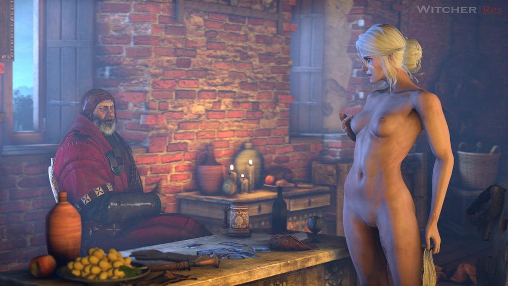 Shani Nude Witcher Fan Art By Alexeyv