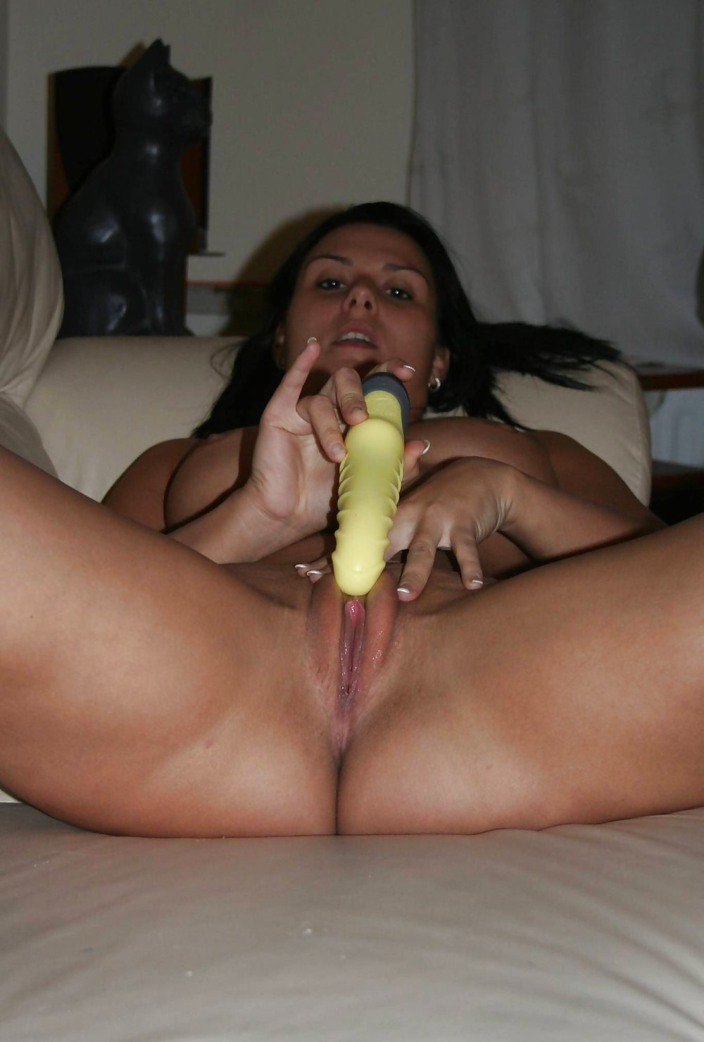 Beautiful woman dildo