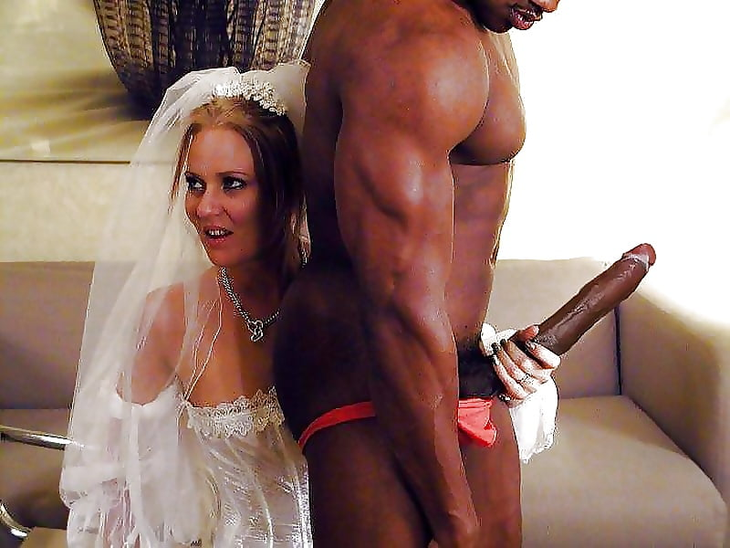 Cheating bride takes big black cock for the first time
