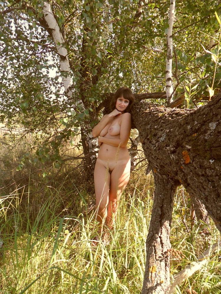 моя бесстыдная жена на природе - 11