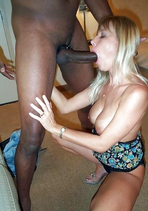 Black cock sucking white wife — pic 15