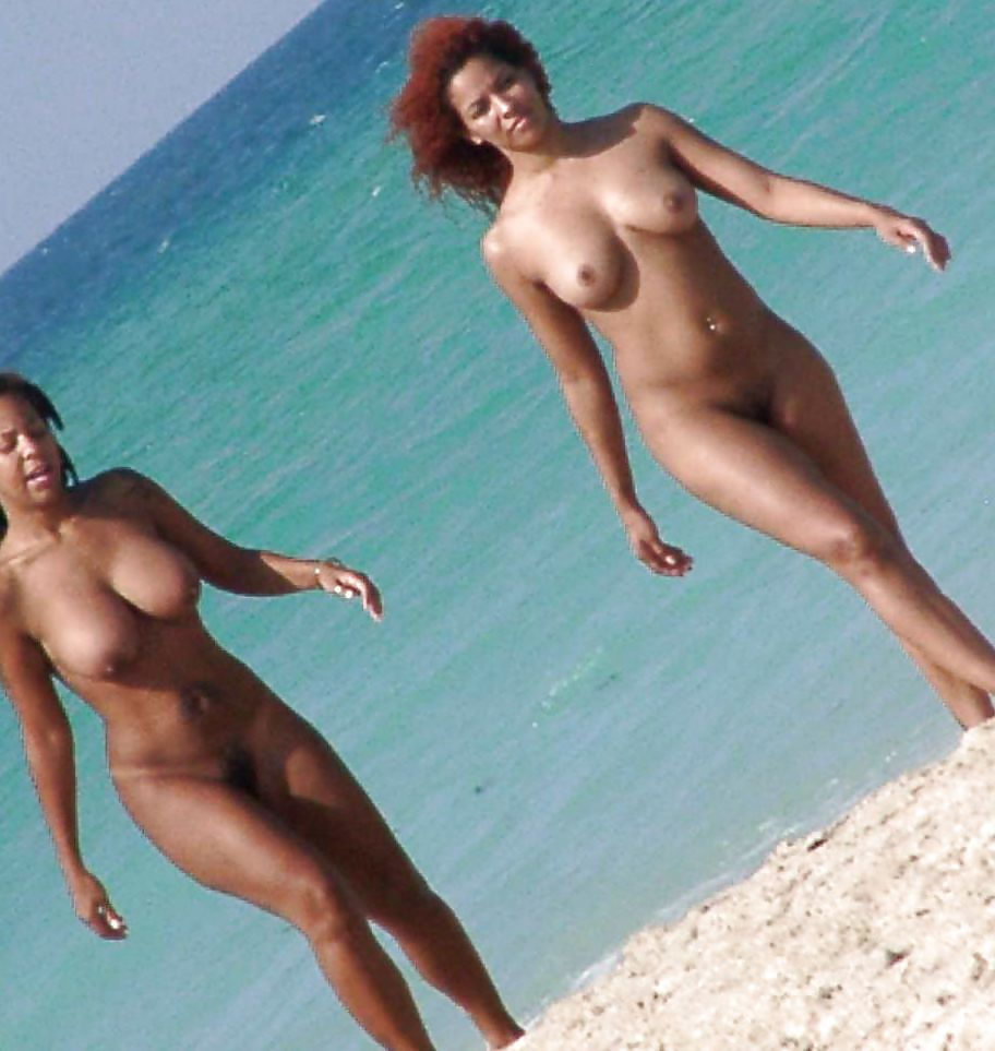 Nude redhead black girl