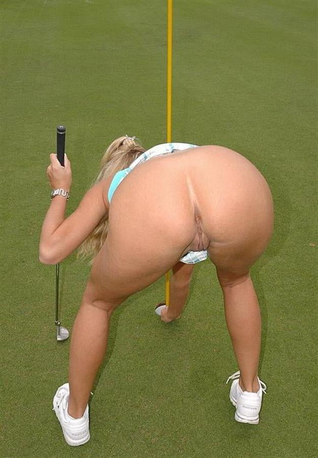 Lets hit a golf ball