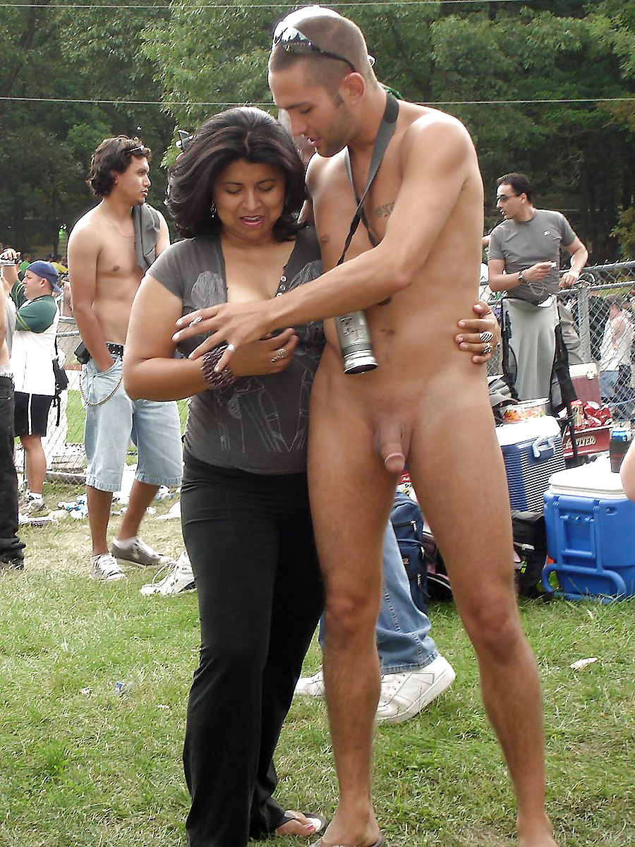 Nude erecting in public pics