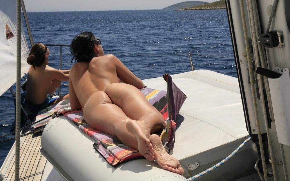 Vintage Nude Sailing