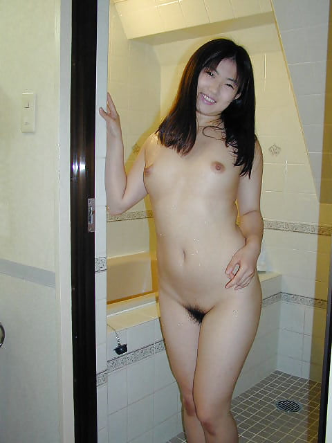 Japanese girl uses toy-4170