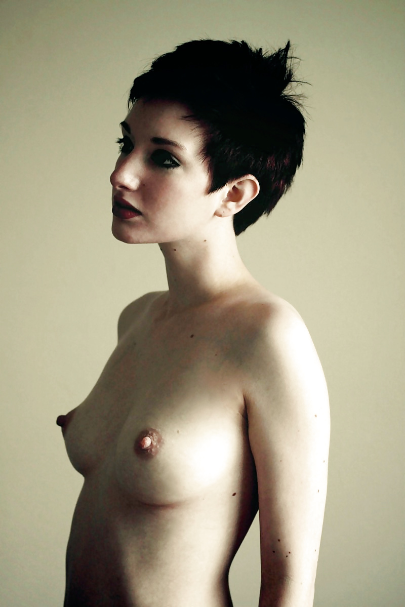 Free porn short hair, small tits pics