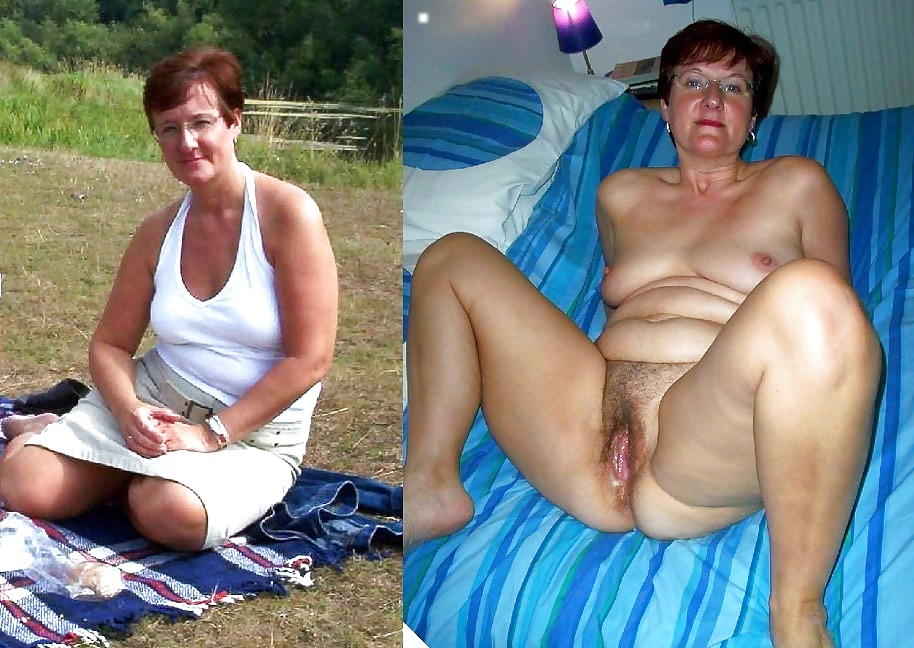 Mostly Mature Women Dressed  Undressed Ii - 65 Pics -4935