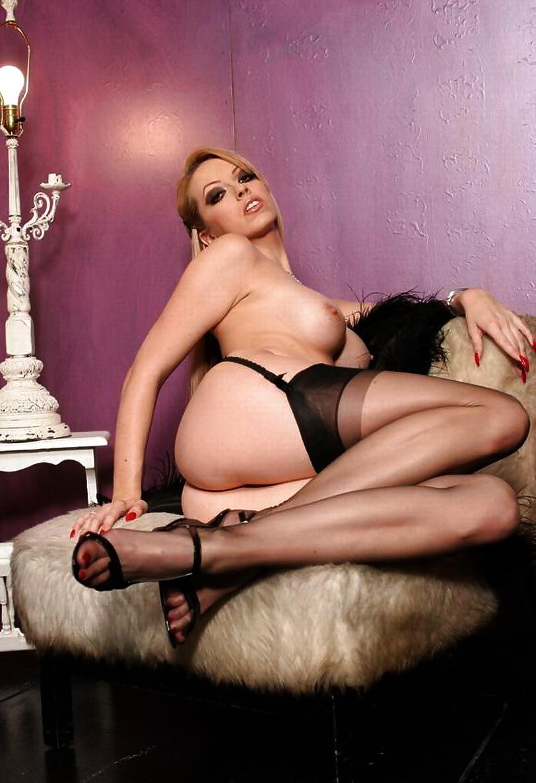 Nylon stocking legs