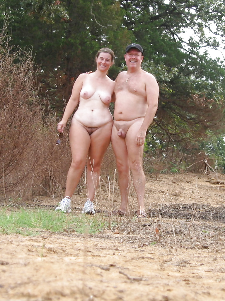 Mature wife at nude beach