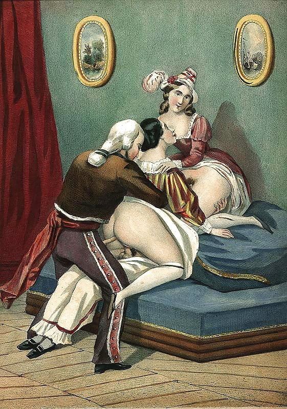 средневековое ретро порно - 13