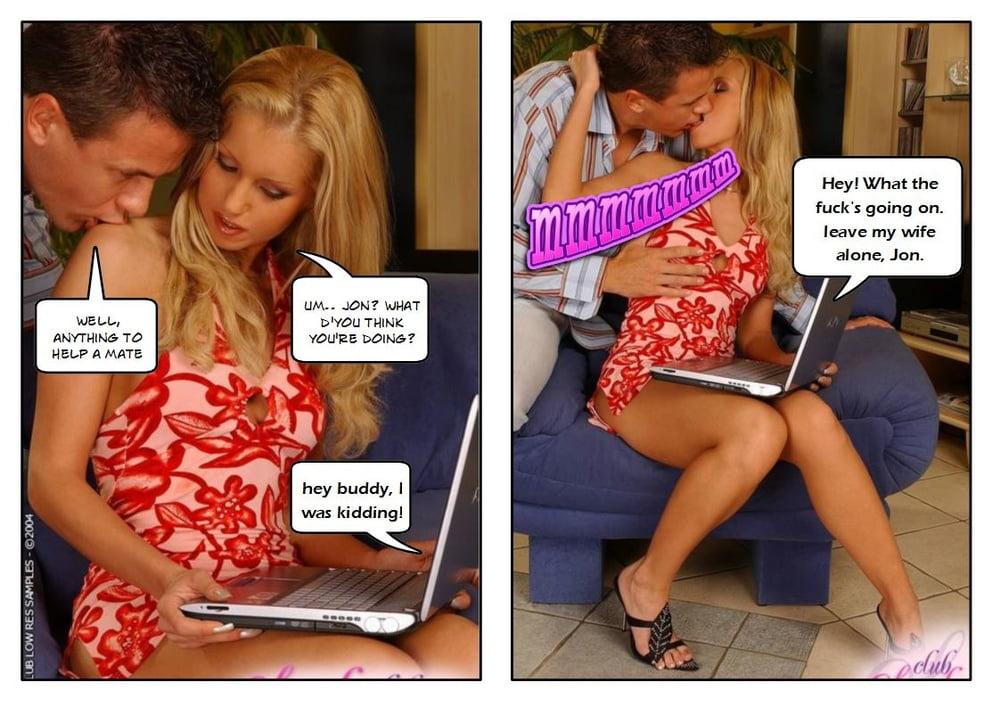 Cheating on skype - 10 Pics