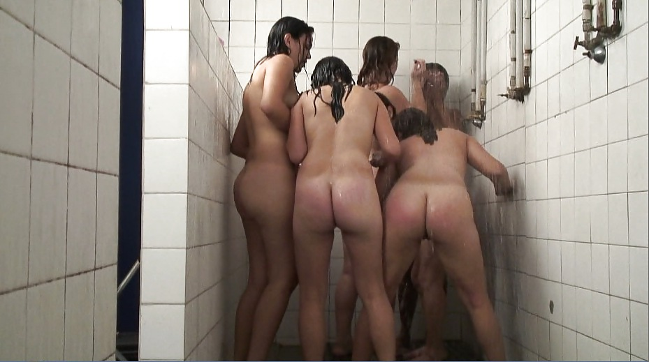 College nude showers