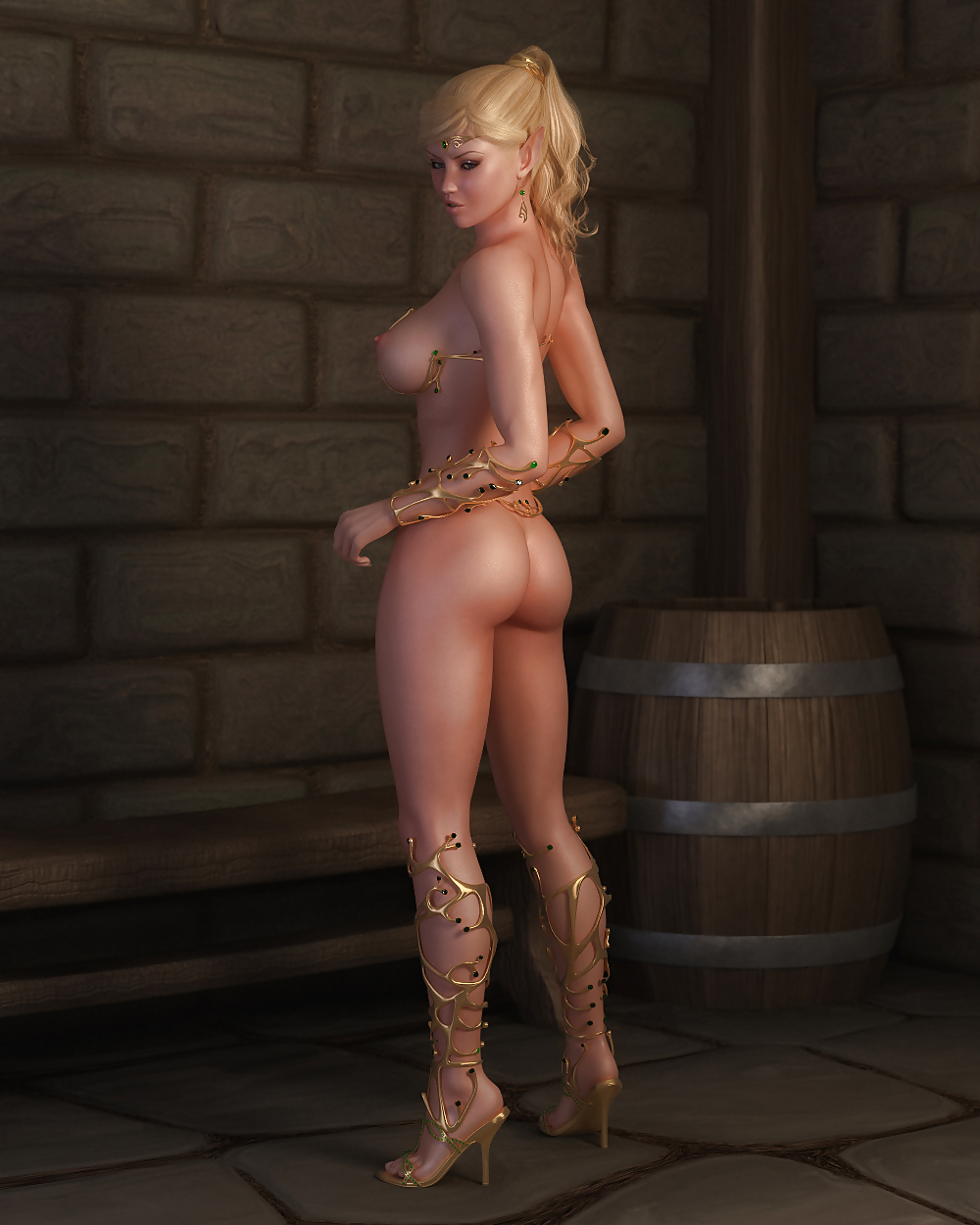 High elf nude, video erotic art amateur