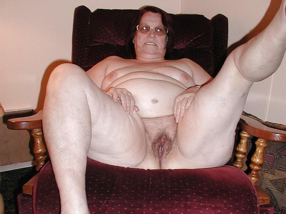 Very fat granny sex
