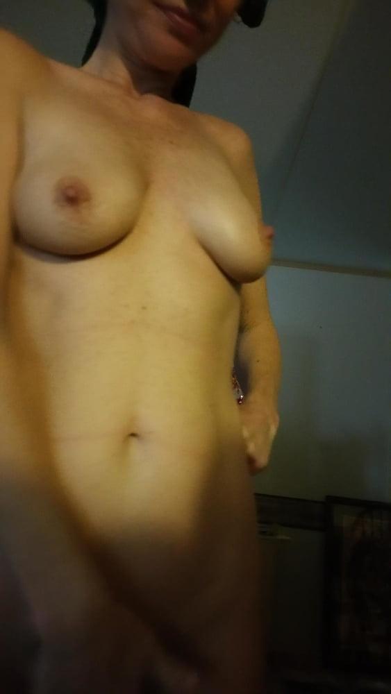 Homemade black bra