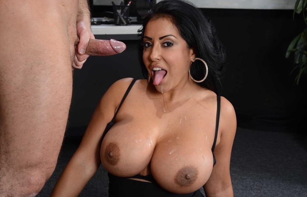 Sucking dick on the job