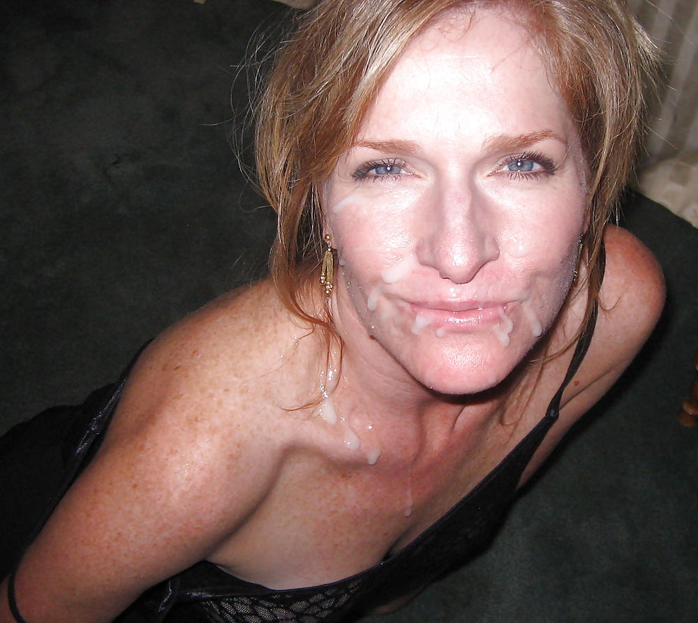 Milf facial cumshot, sex in the shower movies