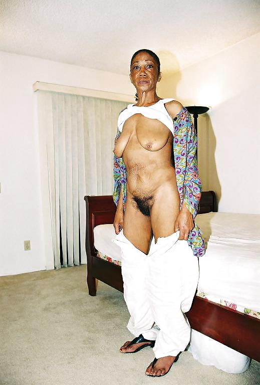 Old ebony granny