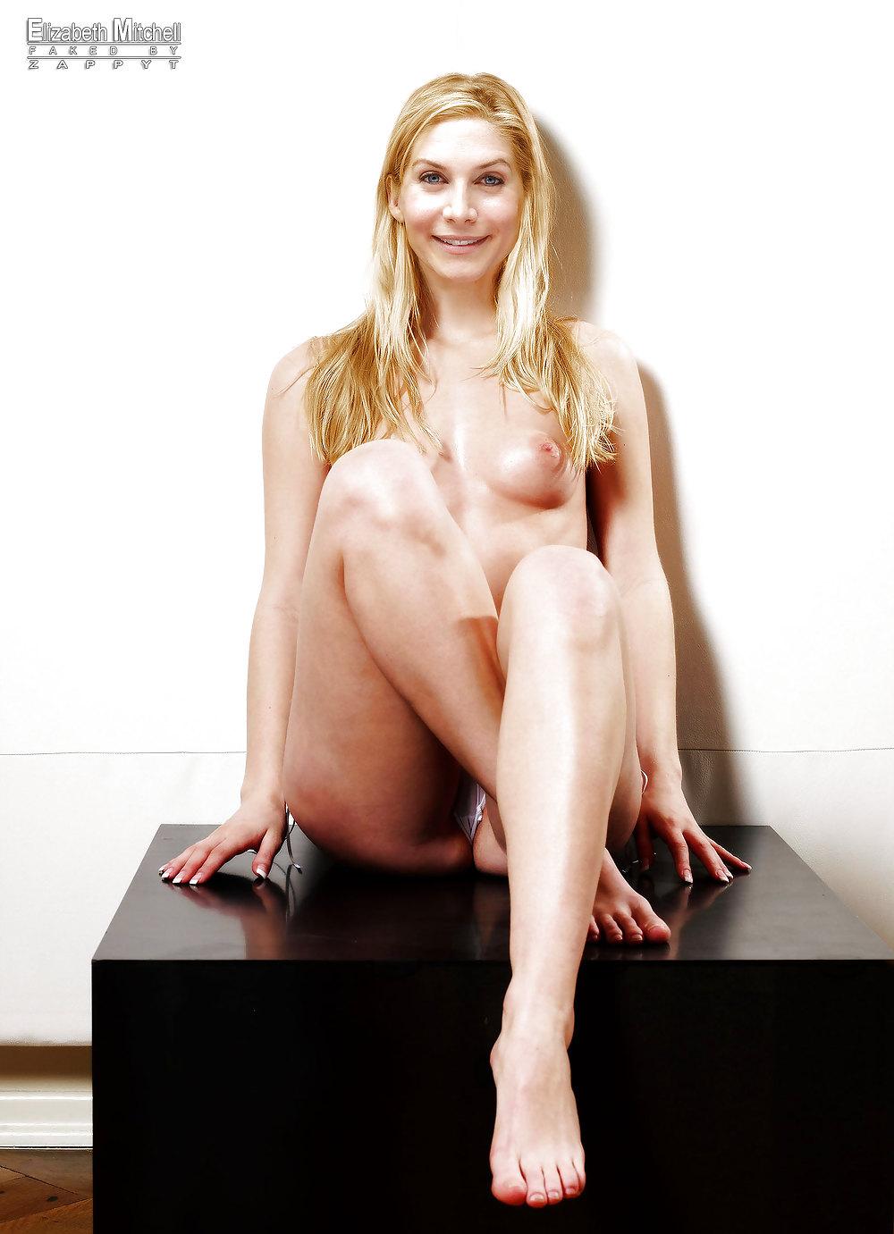 Milf Elizabeth Mitchell Naked Boobs N Pussy Show