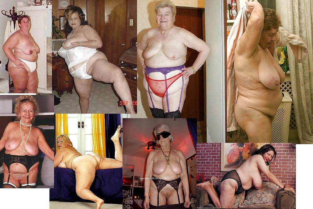 Big fat sexy granny
