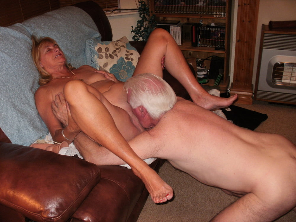 Mature wife shared by young man