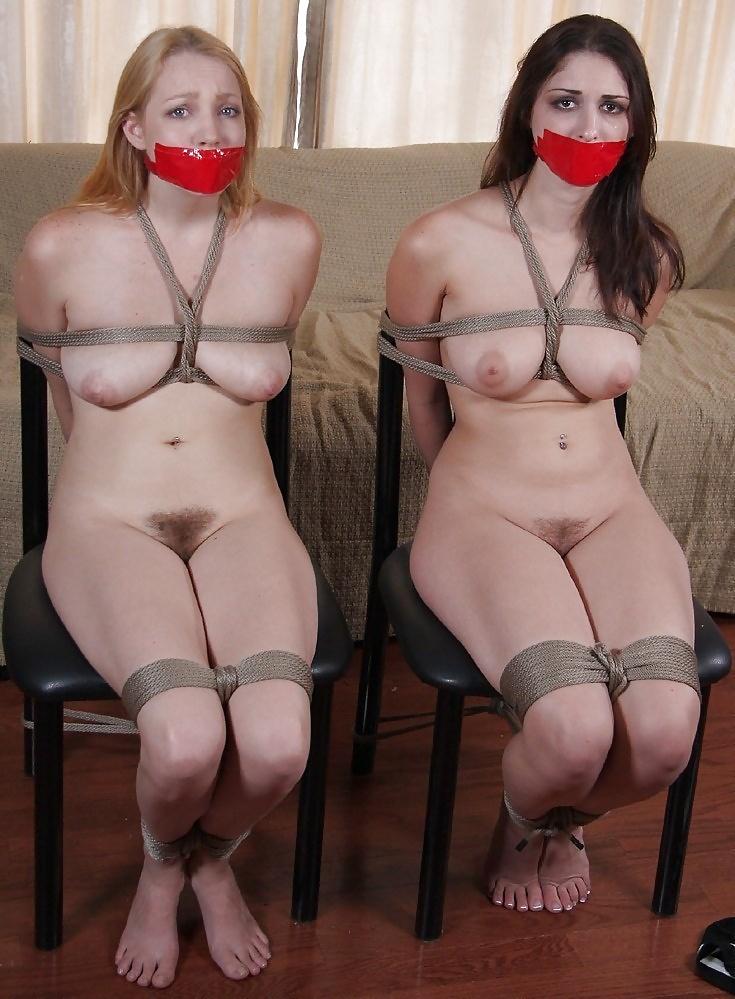 Mother nude bondage