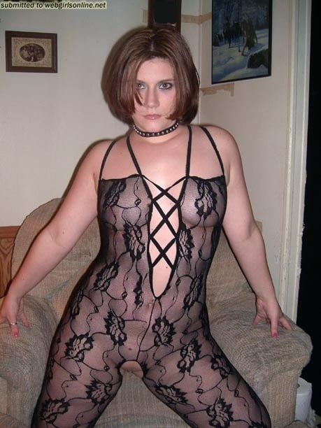 A selection of see through clothing on beautiful women
