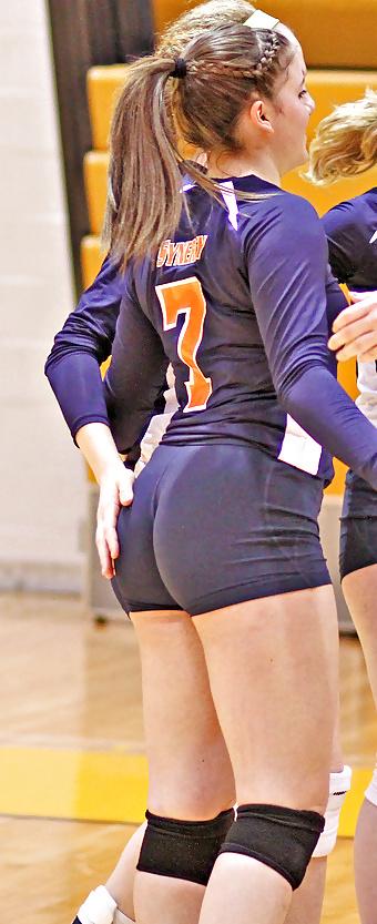 ass wedgie Volleyball butt shorts
