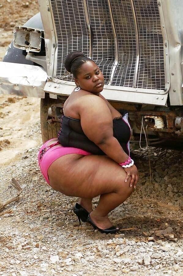 Huge fat black bbw ass — photo 8