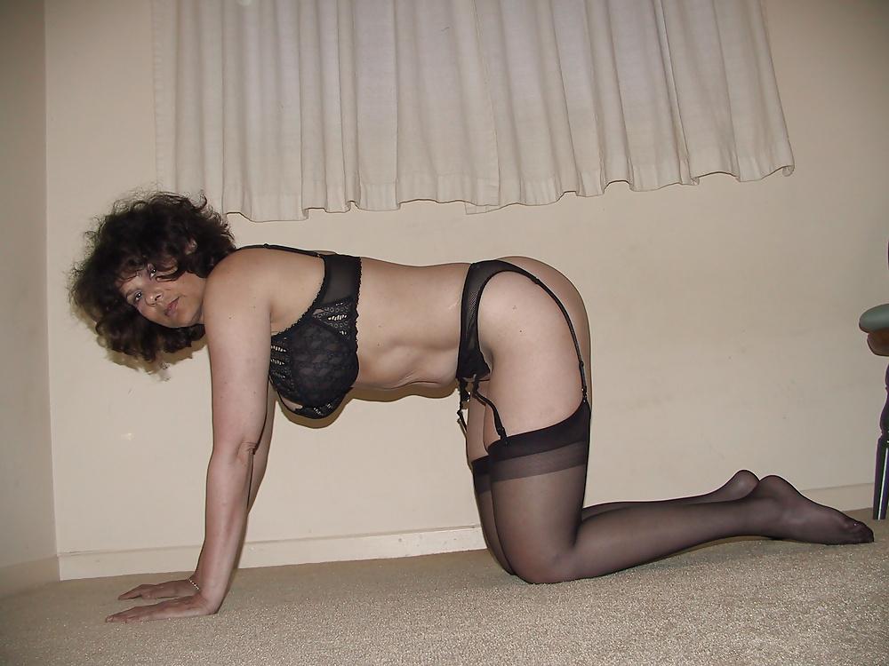 Sexy black lingerie dress-3161