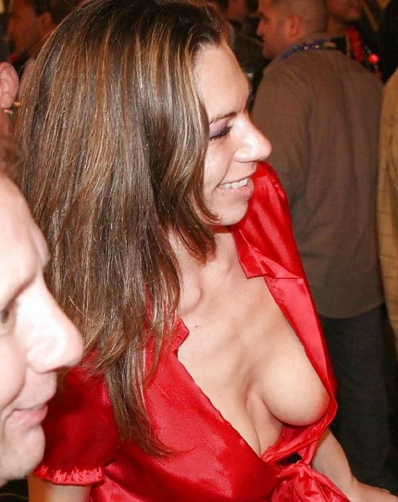 Teacher nipple pussy slip