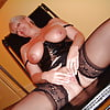 Alexis,Gorgeous Black Stocking-Clad Mature
