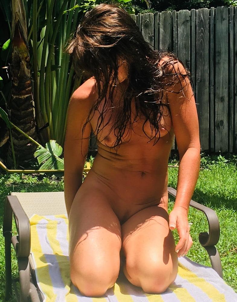 Naked females outside-1229