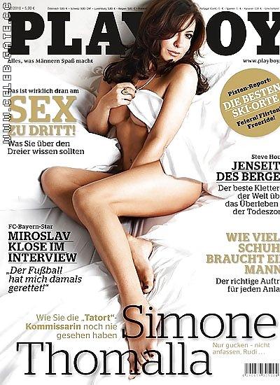 Simone Thomalla Playboy
