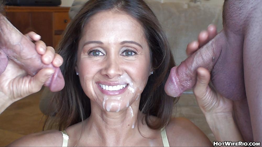 Free latina milf facial cumshot videos