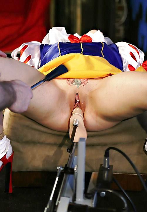 Snow white pussy plugged necessary