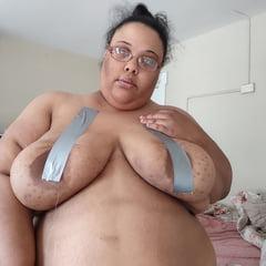SSBBW Pig Jessica Jones' Bound Fat Tits
