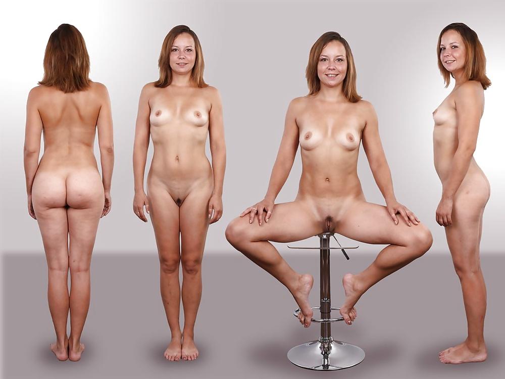In shape girl naked