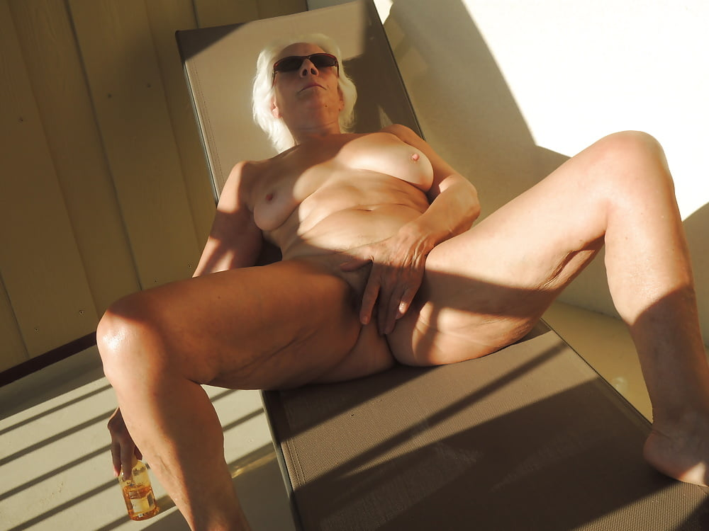 Nude females at beach