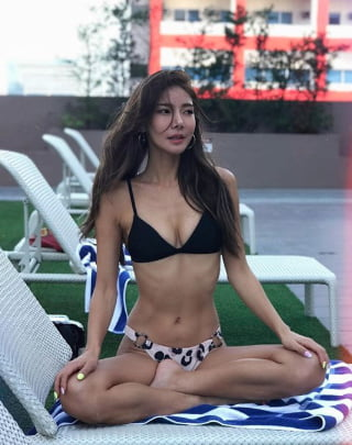 Hot sexy korean model-8327