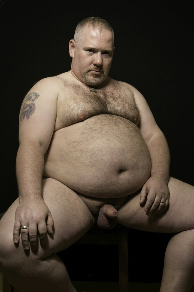Naked Fat Man Running
