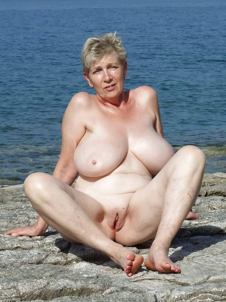 Big boobs granny naked beach young girls porn