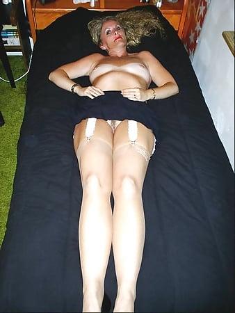 Wife in garters