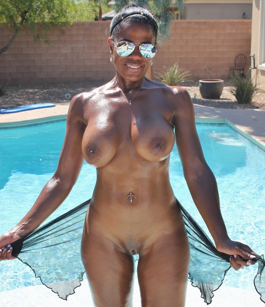 Black girl in pool naked identitys