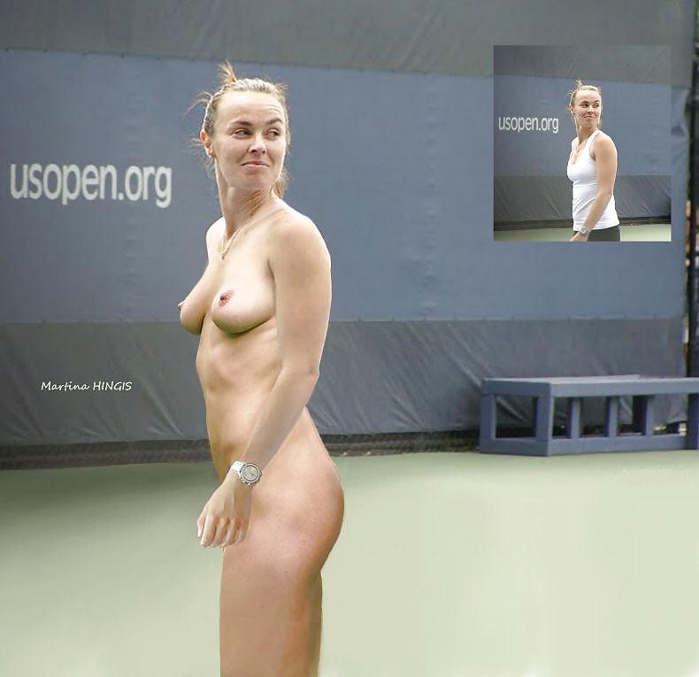 Martina Hingis Upskirt