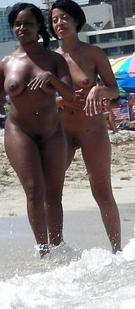 Black Nudist Woman